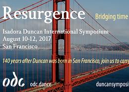 Isadora Duncan International Symposium, ODC Theatre, San Francisco, CA