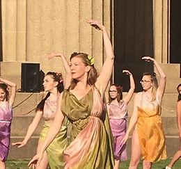 Orpheus Reimagined at The Parthenon, Centennial Park, Nashville