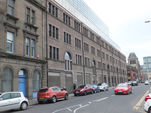 North Lindsay Street Mill - Dundee - Cop