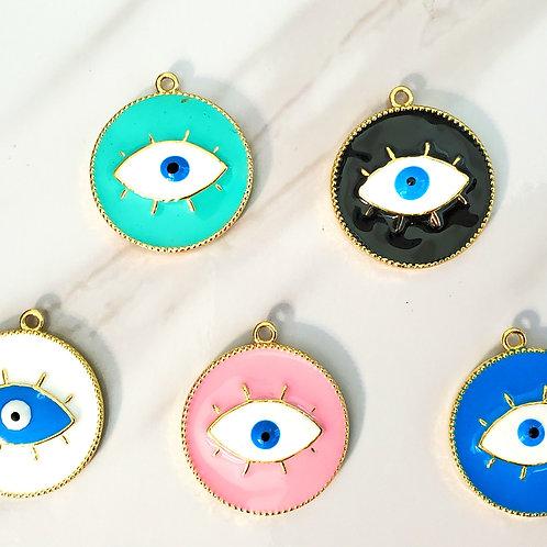 Alloy Evil Eye Charmz