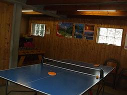 ping-pong baby-foot  salle de jeu