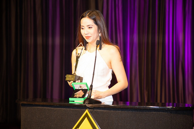 Hải Yến nhận giải Vàng tại Lễ trao giải Stevie Award for Women in Business 2018