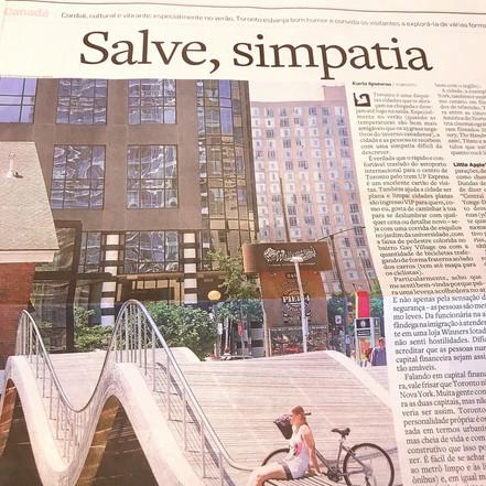 Caderno Viagem, O Estado de São Paulo, 2019