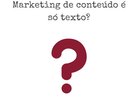 Vamos refletir sobre marketing de conteúdo?