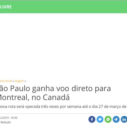 Catraca Livre Website, Dec 19