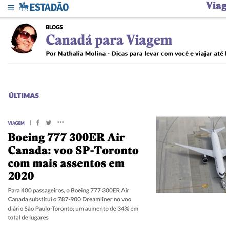 Estado de São Paulo Newspaper, Dec 19