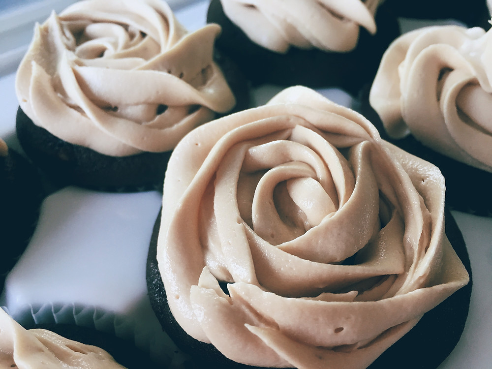 Mocha Cupcakes with Espresso Buttercream