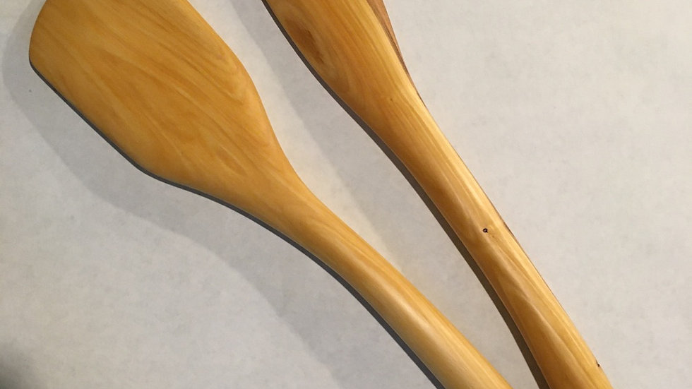 Plum Wood Spurtle Set