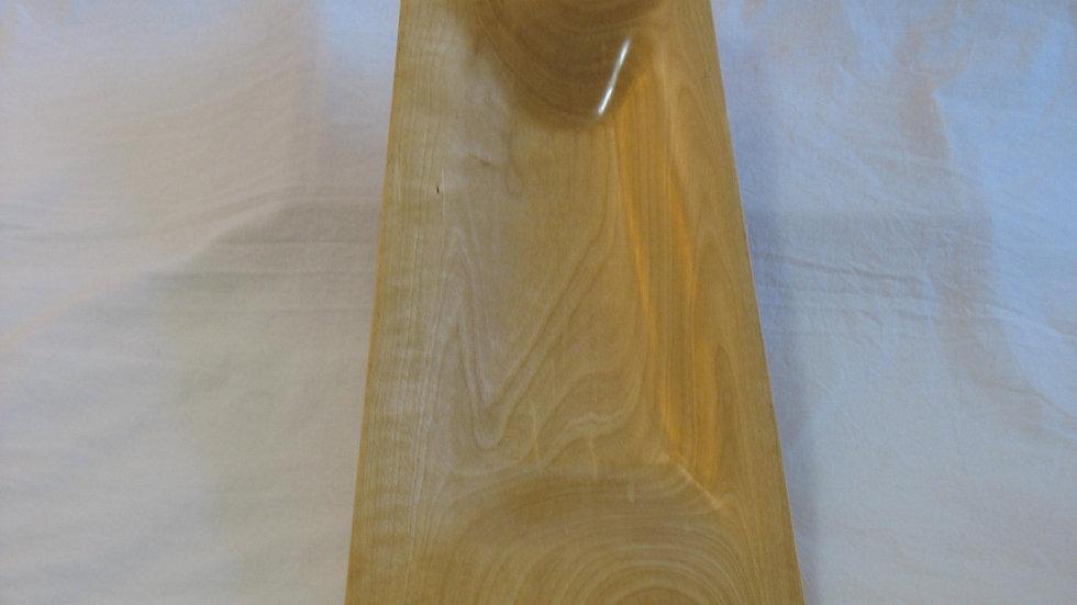 Keystone-shaped  Birch Wood Bowl