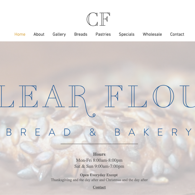 Clear Flour Bread and Bakery