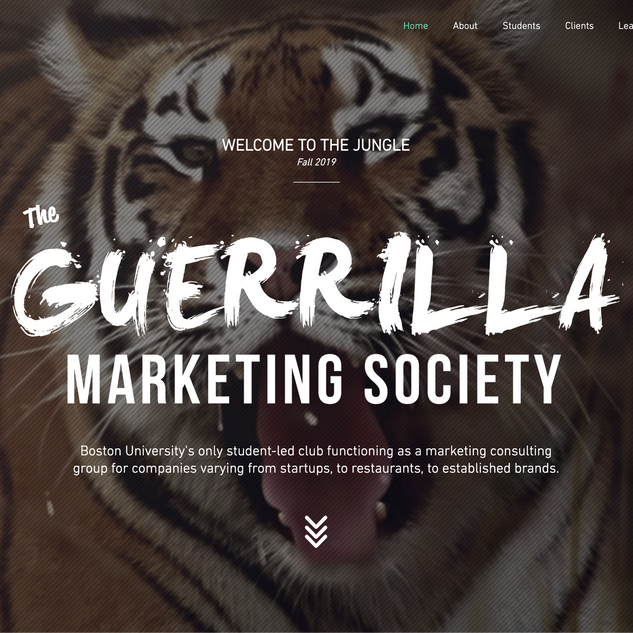 Guerrilla Marketing Society 2.0 Website