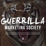 Guerrilla Marketing Society 2.0 Website