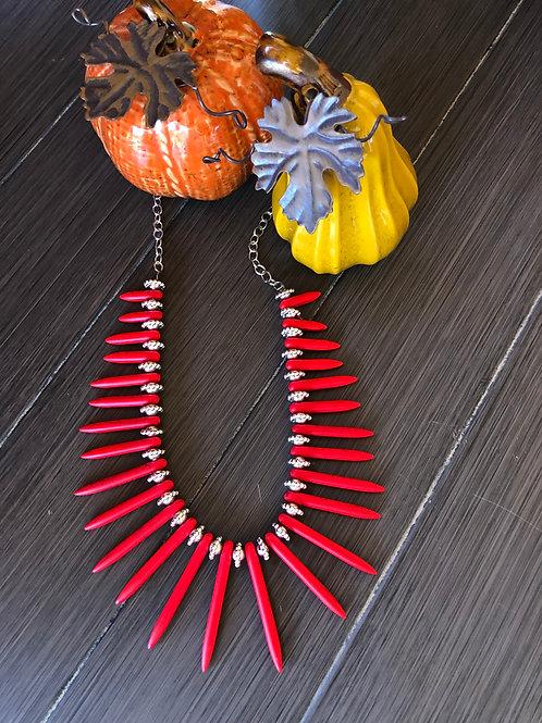 Desert Fire Necklace