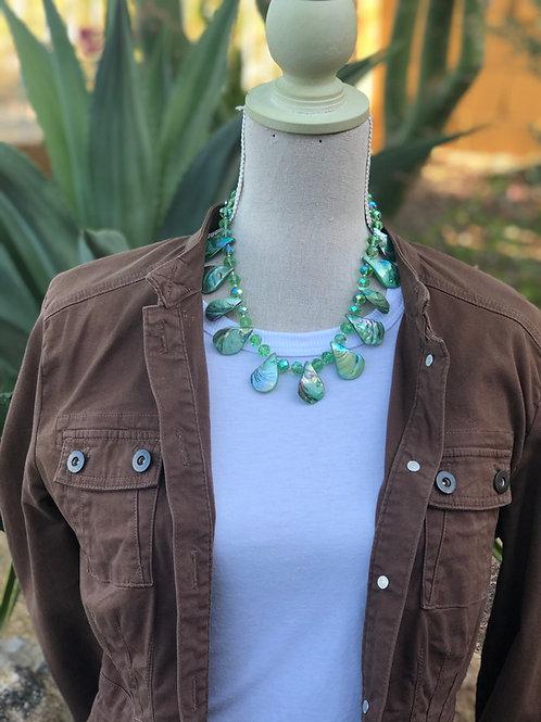 Emerald Tears Necklace
