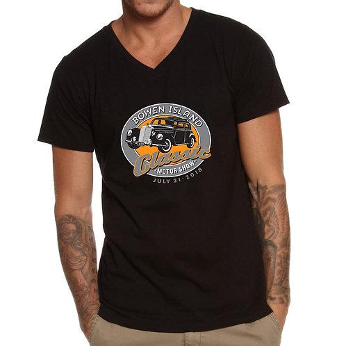 2018 Mens Black T Shirt