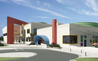 School in Dubai designed in BIM Revit by Urbanism Planning Achitecture