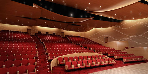 Auditorium and Ballroom in UAE designed by Urbanism Planning Achitecture