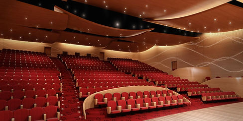 Auditorium and Ballroom in UAE designed by Urbanism Planning Achitecture