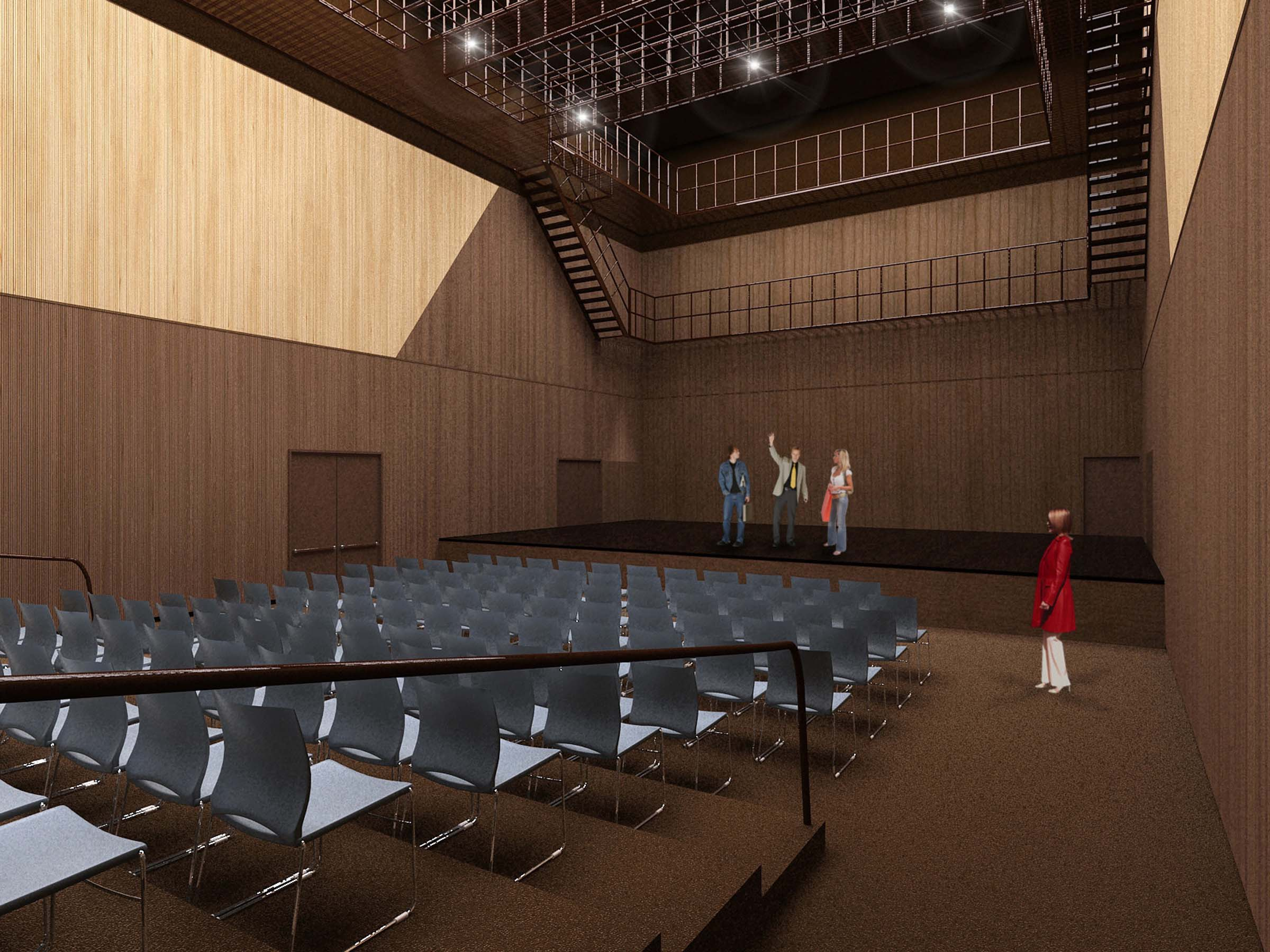 Rendering of Theatre