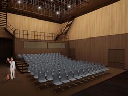 Rendering of Theatre