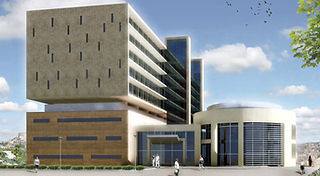 Amman Hospital Project designed by Urbanism Planning Achitecture