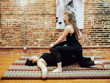 """Thai Yoga Artist,"" and how my services are transforming"