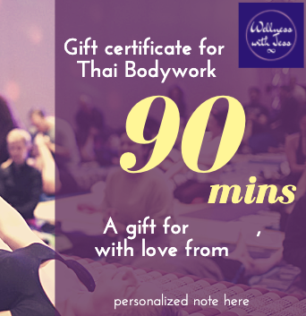 Gift Certificate - Thai Bodywork 90 min