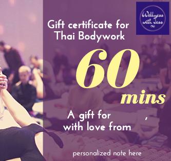 Gift Certificate - Thai Bodywork 60 min