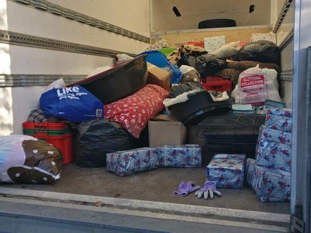 Christmas Box and Aid Donations