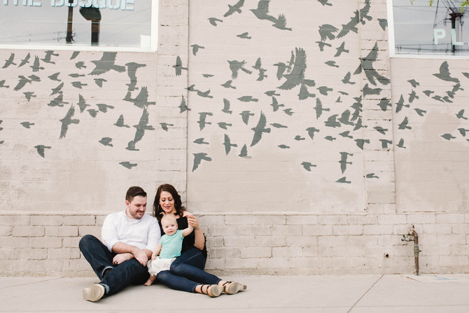 The Chatterton Family | Downtown Phoenix Family Session