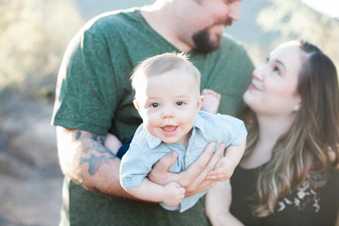 The Brooke Family | Salt River Family Session