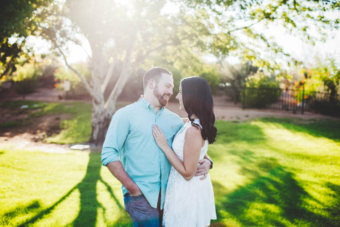 Jessica & Nick | Scottsdale Engagement Session