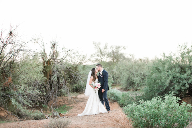 Bryce & Kayla | An Elegant Backyard Wedding