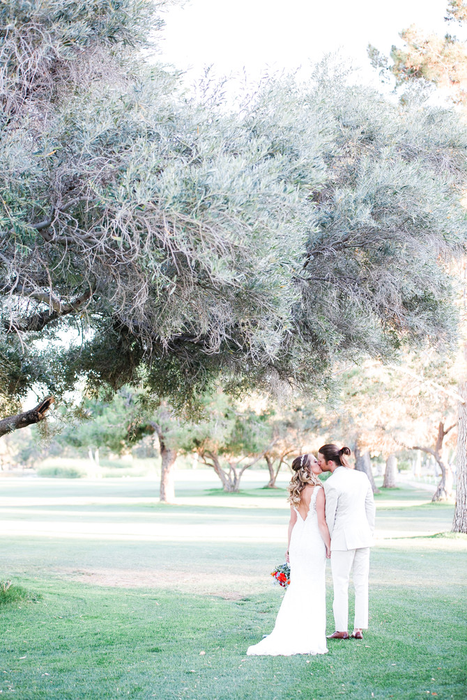 Jordan & Mallory | Spring Wedding at Orange Tree Golf Resort