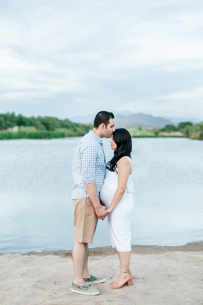 Stephanie | Salt River Maternity + Family Session