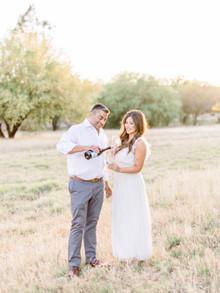 Niraj + Jenn | Scottsdale Golden Hour Engagement Session