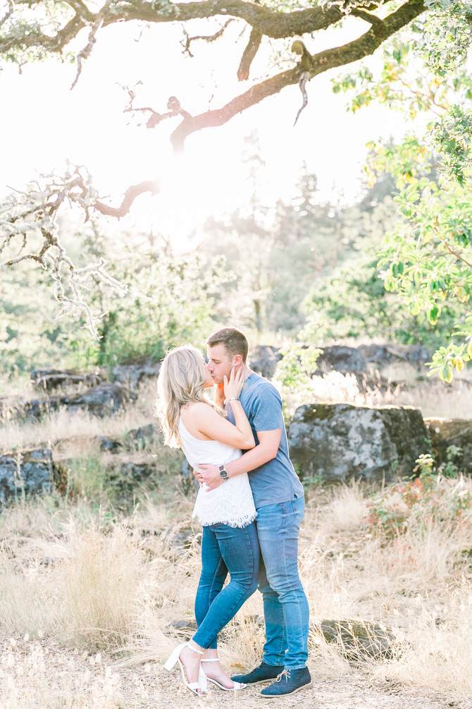 Geoff & Michelle | West Linn Engagement Session