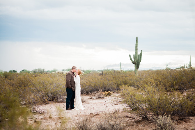 Lindsea & Thoren's Desert Wedding
