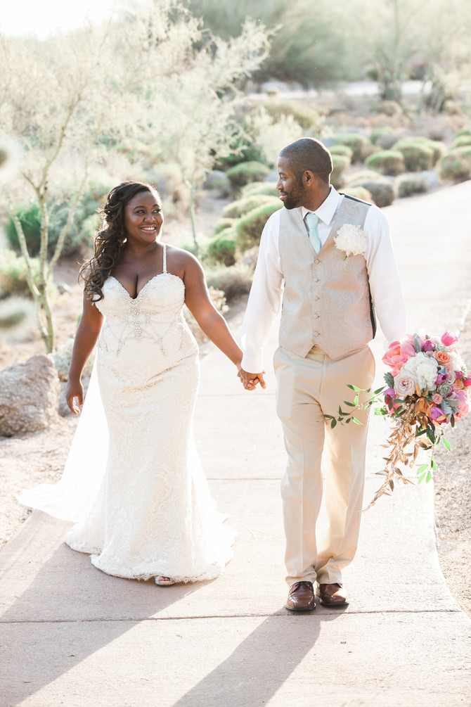 Tiffany & Brian | A Southwest Glam Wedding