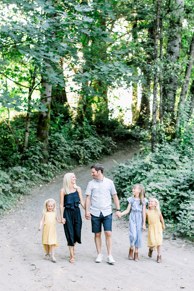 Cormack Family | Sandy River Family Session