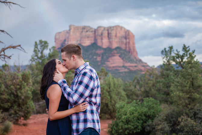 Cory & Sierra | Sedona Engagement Session