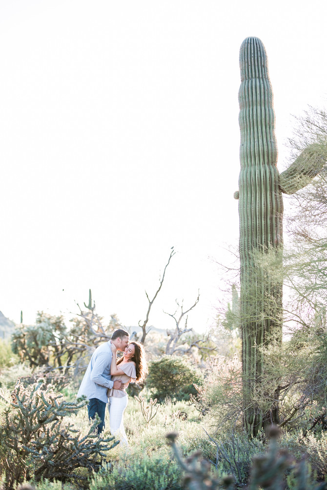 Rochelle & Michael | Desert Engagement Session