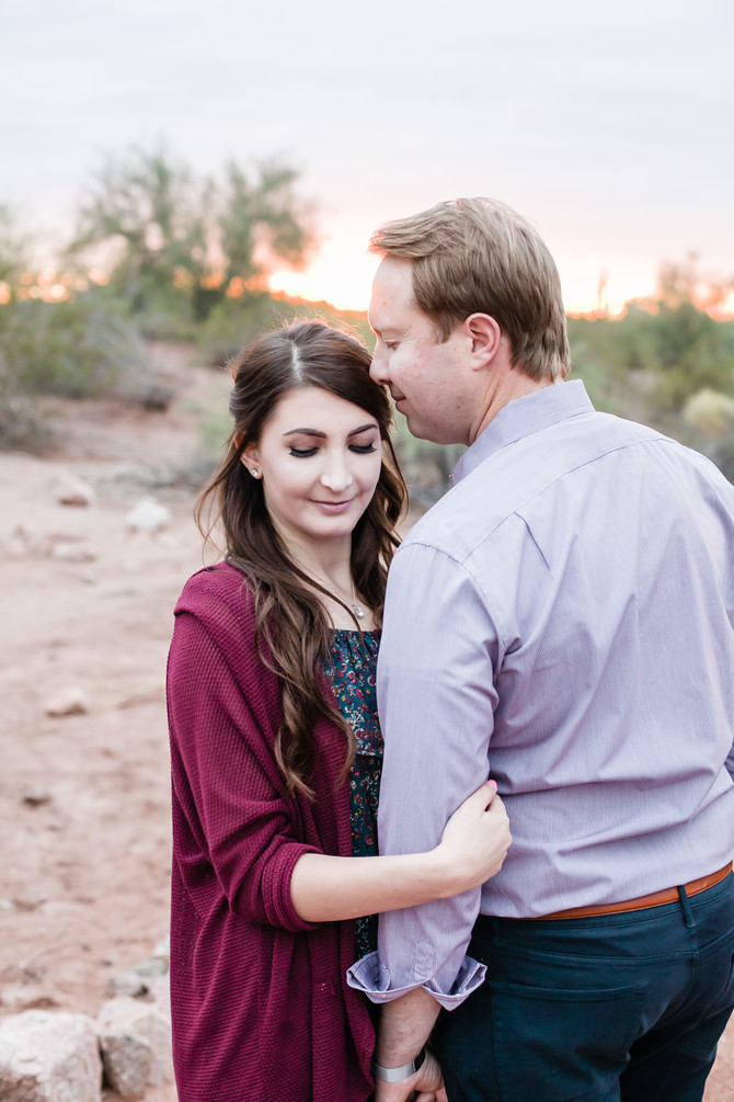 Brooke & Michael | Papago Park Engagement Session