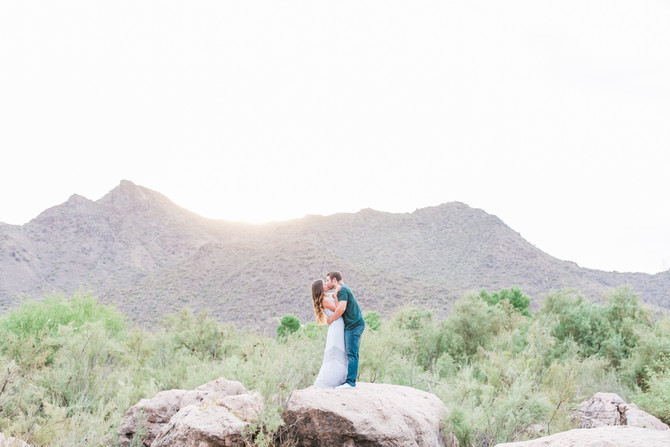 Ryan & Cassidy | Salt River Engagement Session