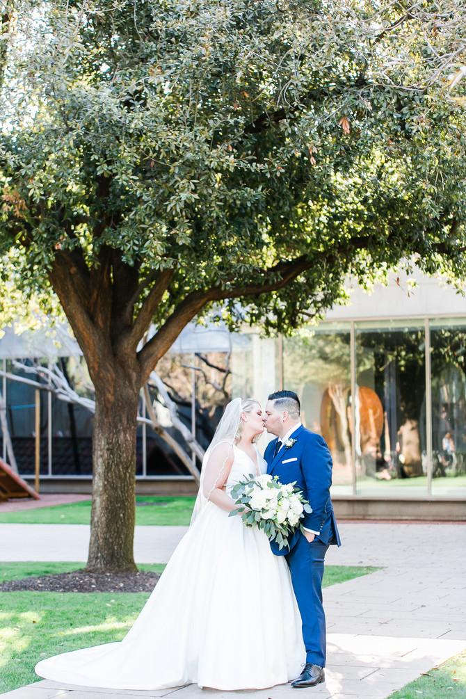 George & Hannah | Phoenix Art Museum Wedding