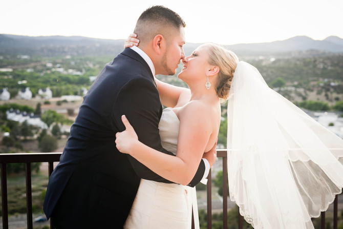From the Archives: Frankie & Kristen | A Graphic Designer's Prescott Resort Wedding