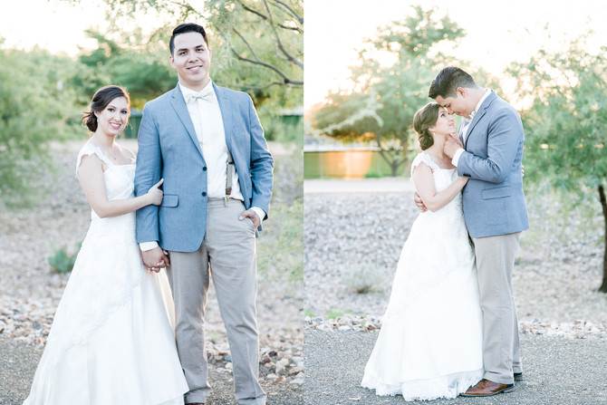 Joel & Sabrina | A Vintage Backyard Wedding