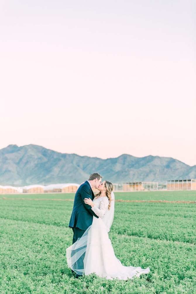 Chris & Allison | Whispering Tree Ranch Wedding