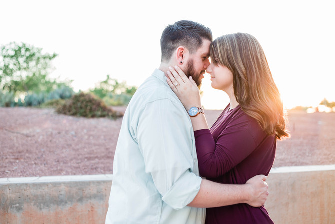Ryan & Kimberly | Tempe Engagement Session