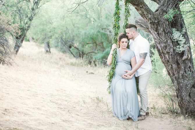 Hayley | National Forest Maternity Session